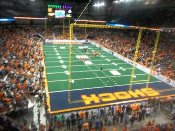 Spokane Arena, Bereich: 221, Reihe: M, Platz: 19
