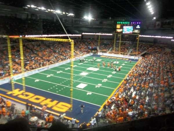 Spokane Arena, Bereich: 224, Reihe: M, Platz: 4