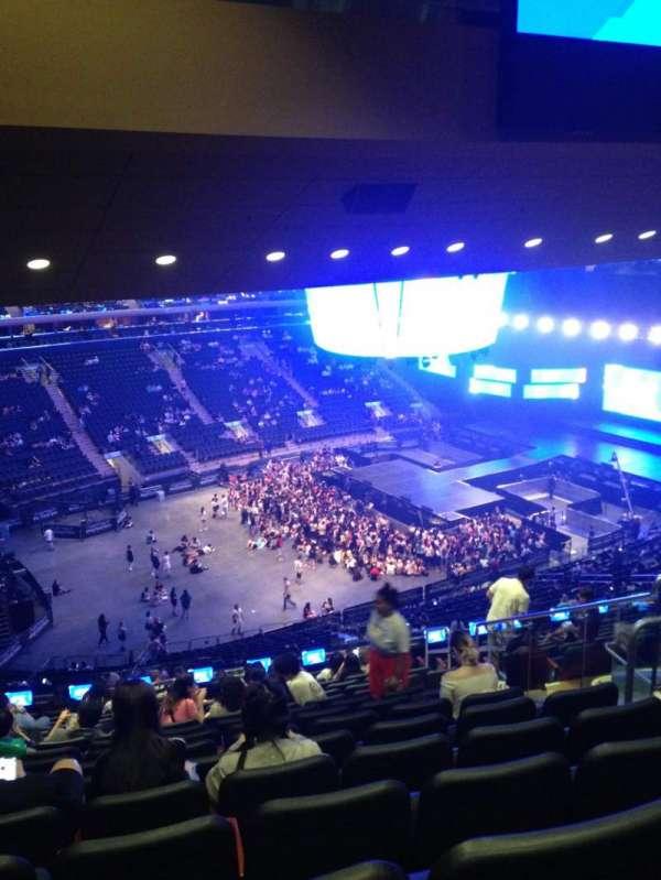 Madison Square Garden, Abschnitt: 208, Reihe: 16, Platz: 18
