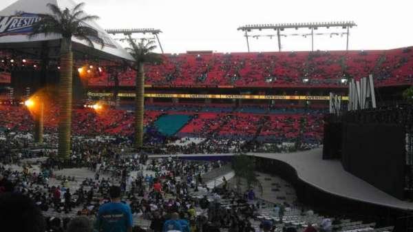 Hard Rock Stadium, Abschnitt: 110, Reihe: 22, Platz: 17
