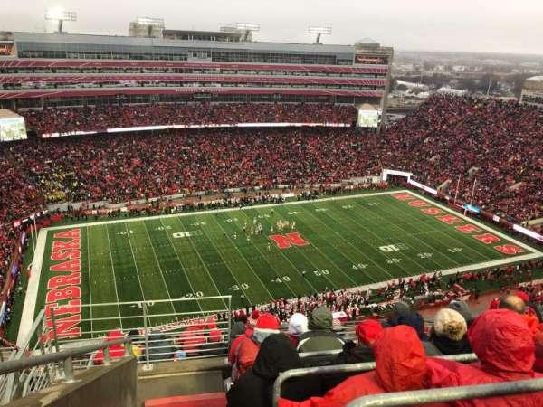 Memorial Stadium (Lincoln), Abschnitt: 610, Reihe: 9, Platz: 19