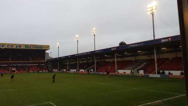 Bescot Stadium, Abschnitt: Away End