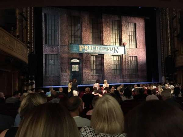 Al Hirschfeld Theatre, Abschnitt: ORCHL, Reihe: P, Platz: 5