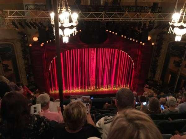 Shubert Theatre, Abschnitt: BALC, Reihe: H, Platz: 111