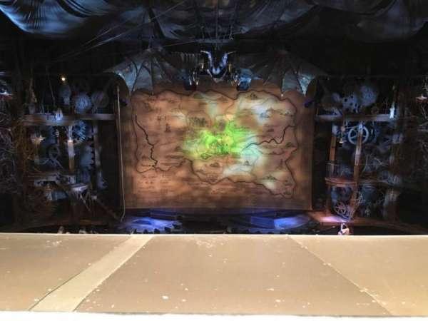Gershwin Theatre, Abschnitt: FMEZZ, Reihe: A, Platz: 109
