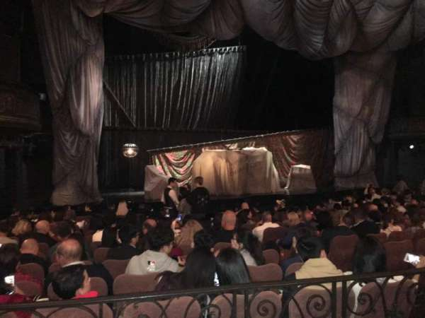 Majestic Theatre, Abschnitt: Orchestra Left, Reihe: K, Platz: 11