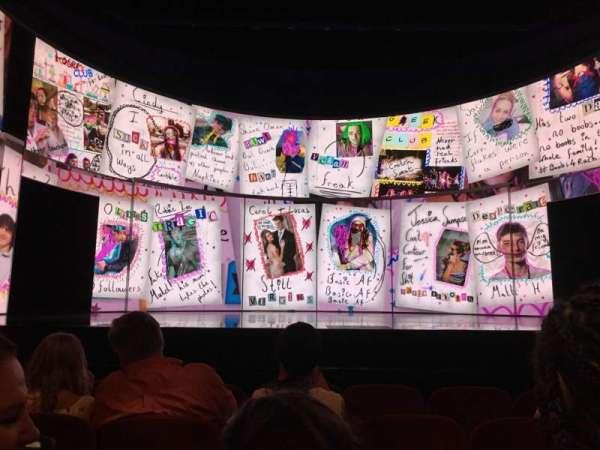 August Wilson Theatre, Abschnitt: ORCHC, Reihe: E, Platz: 109