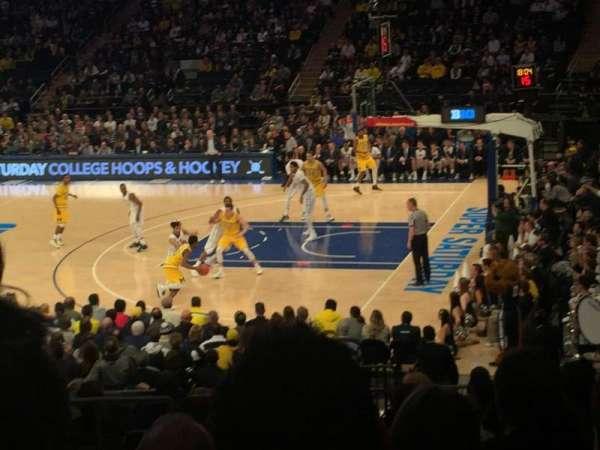 Madison Square Garden, Abschnitt: 119, Reihe: 15, Platz: 5