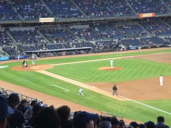 Yankee Stadium, Abschnitt: 211, Reihe: 17, Platz: 2