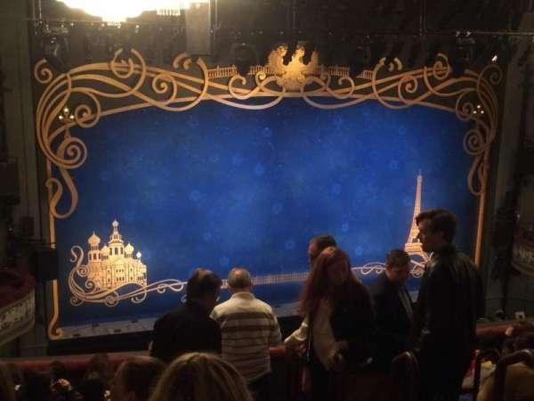 Broadhurst Theatre, Abschnitt: Mezz, Reihe: K, Platz: 7