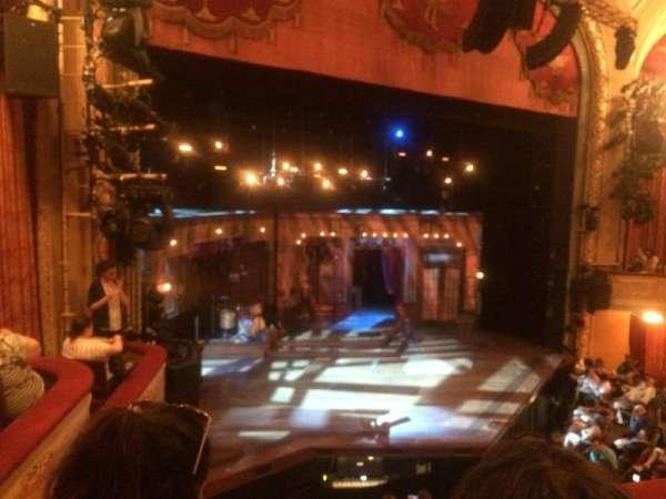 Bernard B. Jacobs Theatre, Abschnitt: Mezz, Reihe: B, Platz: 21