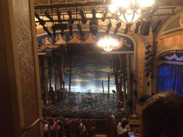 Gerald Schoenfeld Theatre, Abschnitt: Mezz, Reihe: K, Platz: 2
