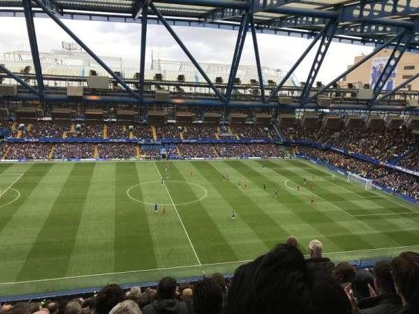 Stamford Bridge, Abschnitt: West Stand Upper - Block 5, Reihe: 17, Platz: 134
