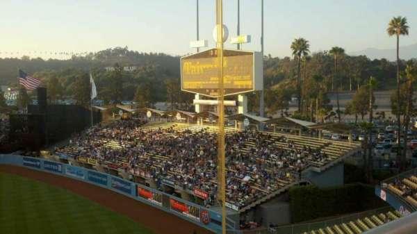 Dodger Stadium, Abschnitt: 40RS, Reihe: A, Platz: 1