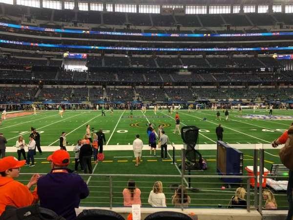 AT&T Stadium, Abschnitt: C113, Reihe: 4, Platz: 3