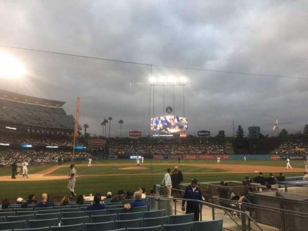 Dodger Stadium, Abschnitt: 12FD, Reihe: C, Platz: 1