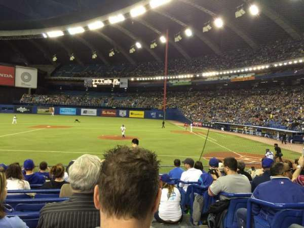 Olympic Stadium, Montreal, Abschnitt: 108, Reihe: NN, Platz: 1