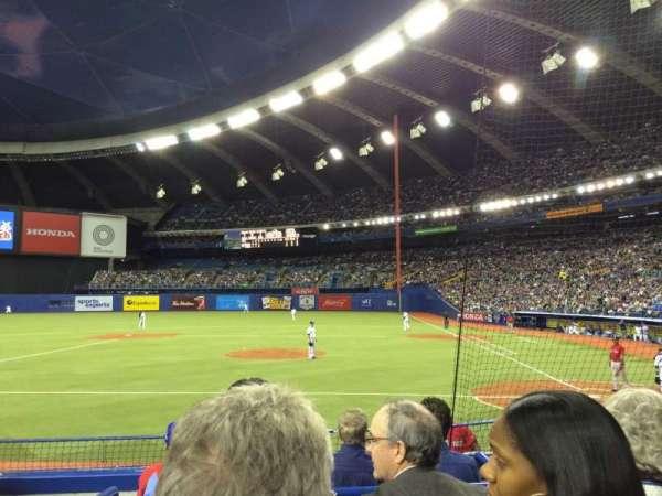 Olympic Stadium, Montreal, Abschnitt: 106, Reihe: KK, Platz: 10