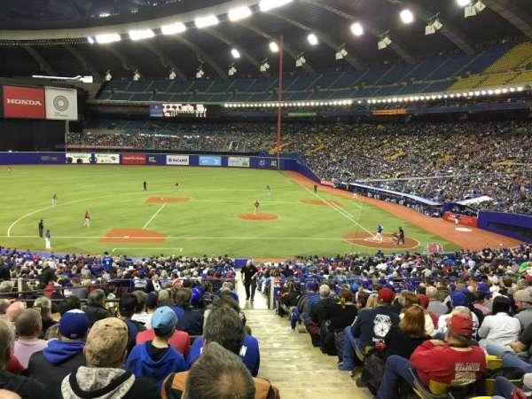 Olympic Stadium, Montreal, Abschnitt: 110, Reihe: T, Platz: 12