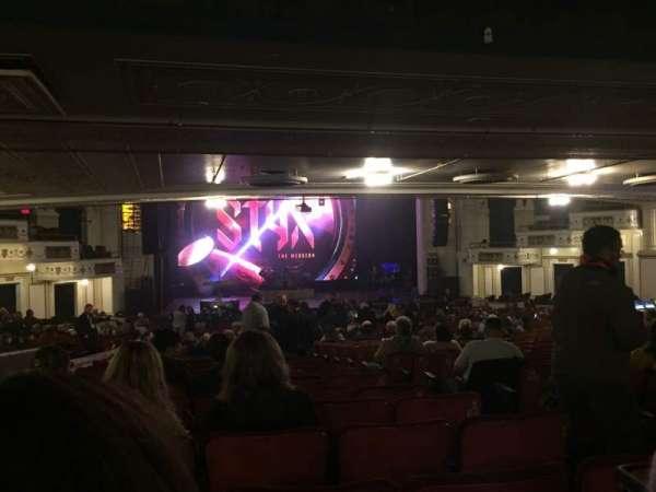 Orpheum Theatre (Boston), Abschnitt: Orchestra LC, Reihe: X, Platz: 107