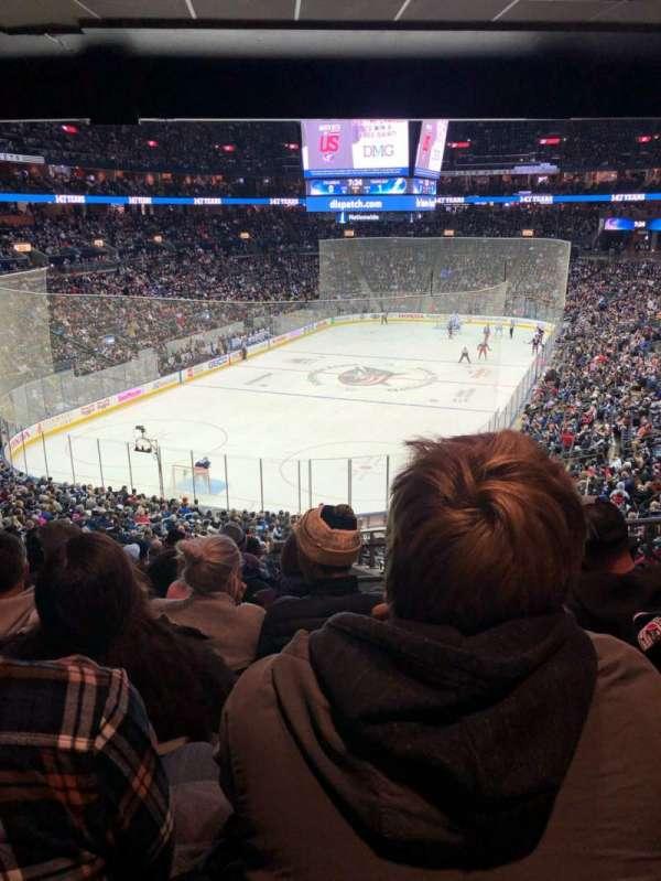 Nationwide Arena, Abschnitt: 119, Reihe: NN, Platz: 6