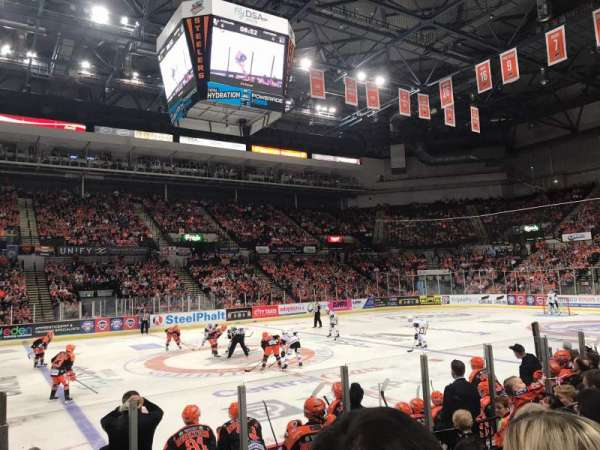 FlyDSA Arena, Abschnitt: 103, Reihe: H, Platz: 7