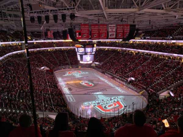 PNC Arena, Abschnitt: 316, Reihe: D, Platz: 11