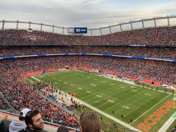 Empower Field at Mile High Stadium, Abschnitt: 502, Reihe: 3