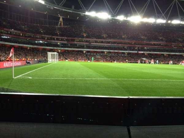 Emirates Stadium, Abschnitt: 20, Reihe: 1, Platz: 604