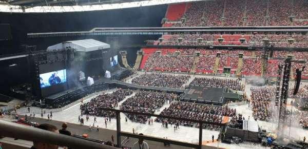 Wembley Stadium, Abschnitt: 526, Reihe: 10, Platz: 375