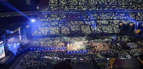 Wembley Stadium, Abschnitt: 527, Reihe: 33, Platz: 28