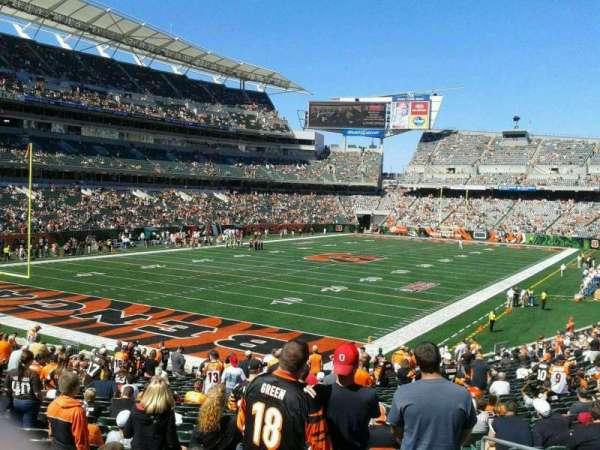 Paul Brown Stadium, Abschnitt: 150