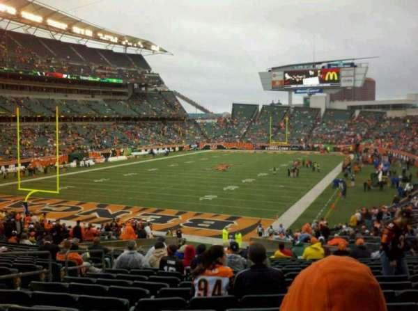 Paul Brown Stadium, Abschnitt: 120