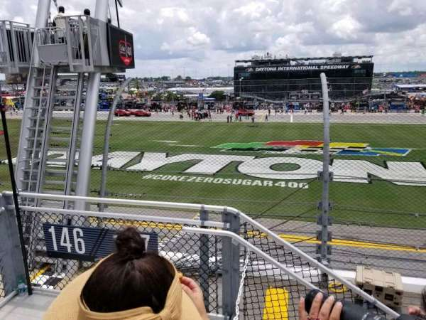 Daytona International Speedway, Abschnitt: 718, Reihe: 3, Platz: 22
