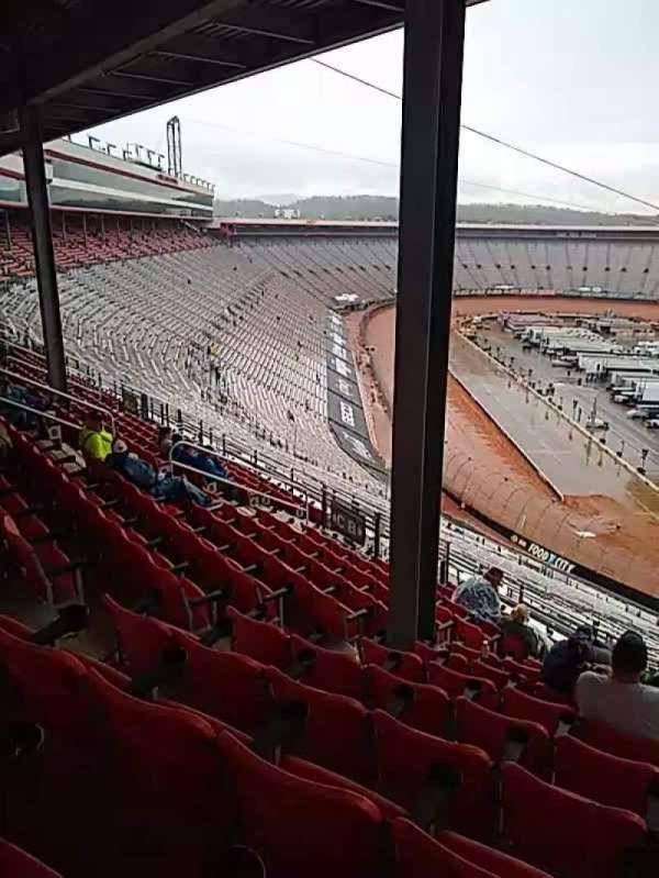 Bristol Motor Speedway, Bereich: pt a, Reihe: 13, Platz: 5