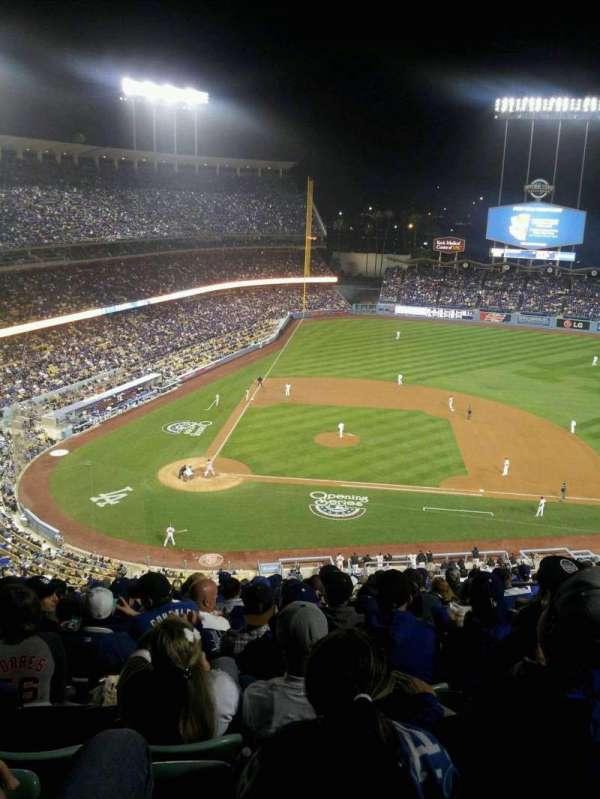 Dodger Stadium, Abschnitt: 10RS, Reihe: S, Platz: 14