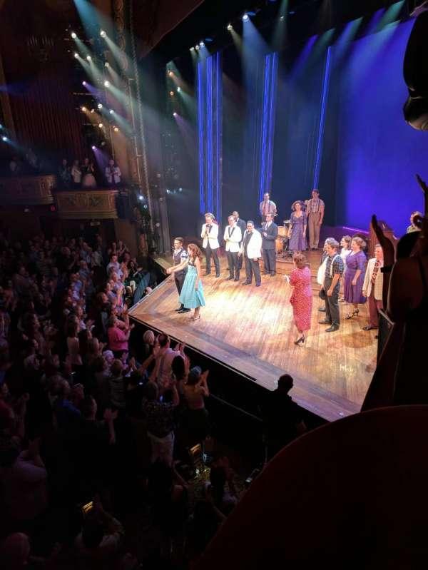 Bernard B. Jacobs Theatre, Abschnitt: BOXES, Reihe: C, Platz: 3