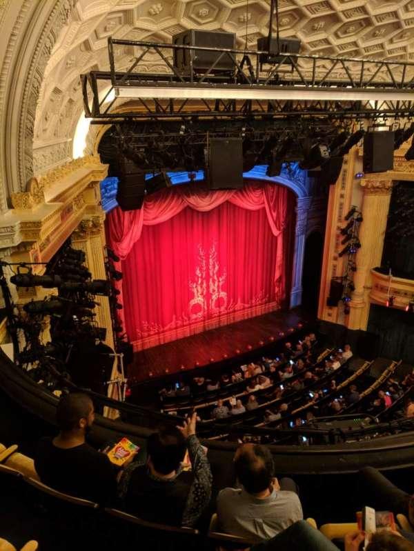 Hudson Theatre, Abschnitt: Balcony, Reihe: D, Platz: 15