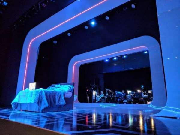 The Irene Diamond Stage at The Pershing Square Signature Center, Abschnitt: Orchestra, Reihe: A, Platz: 118