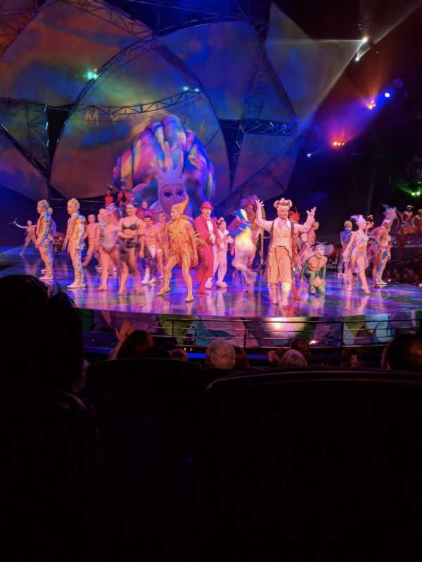 Mystère Theatre at Treasure Island, Abschnitt: 103, Reihe: E, Platz: 10
