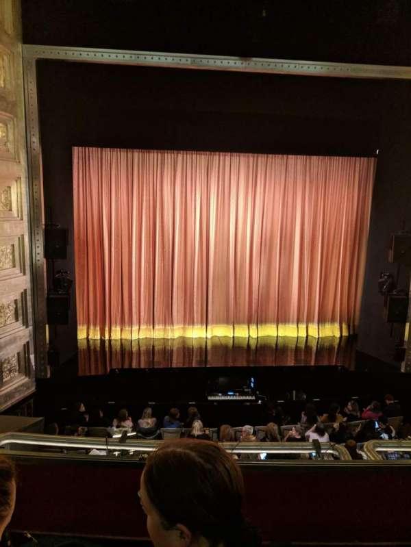 Savoy Theatre, Abschnitt: Dress Circle, Reihe: B, Platz: 19
