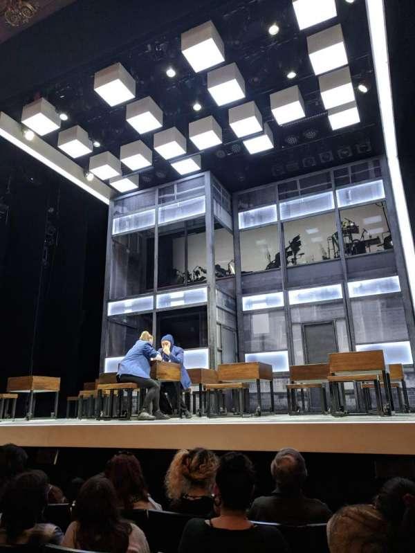 Apollo Theatre, Abschnitt: Stalls, Reihe: E, Platz: 5