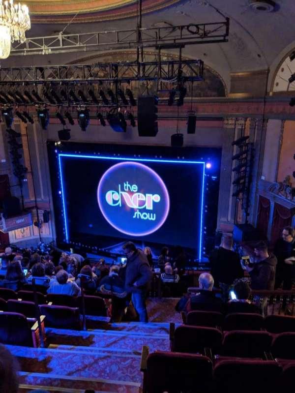 Neil Simon Theatre, Abschnitt: Mezzanine, Reihe: O, Platz: 4