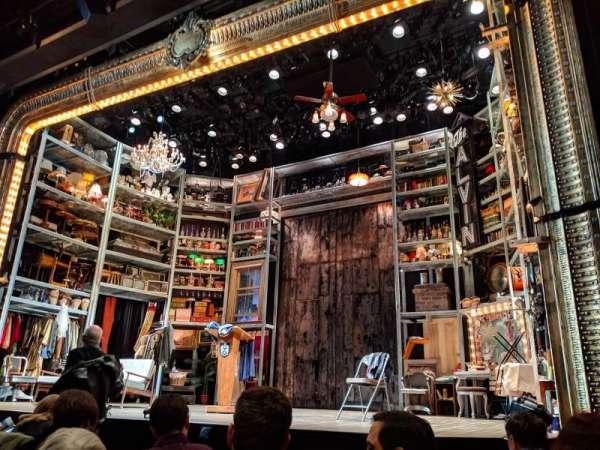 Laura Pels Theatre, Abschnitt: ORCH, Reihe: F, Platz: 8