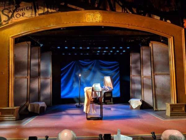York Theatre, Abschnitt: Orchestra, Reihe: C, Platz: 7