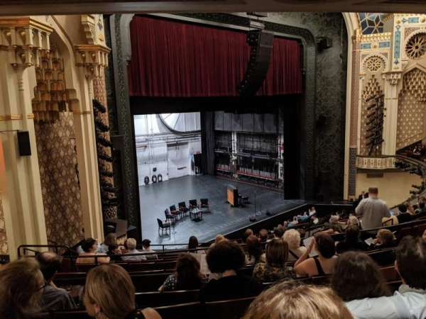 New York City Center, Abschnitt: Mezzanine, Reihe: J, Platz: 7