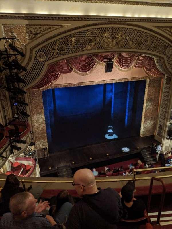 Cort Theatre, Abschnitt: Balcony L, Reihe: D, Platz: 7