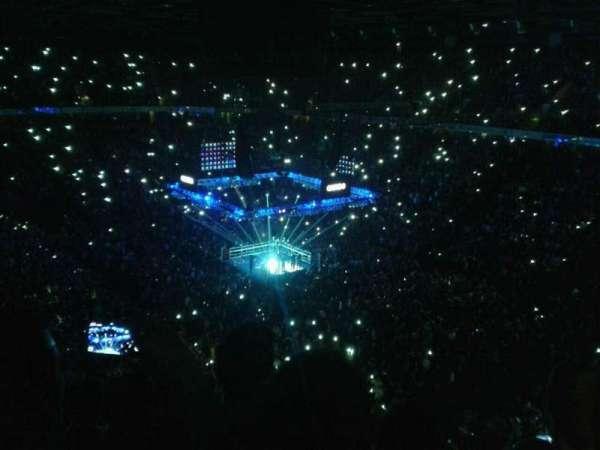 Manchester Arena, Abschnitt: 206, Reihe: k