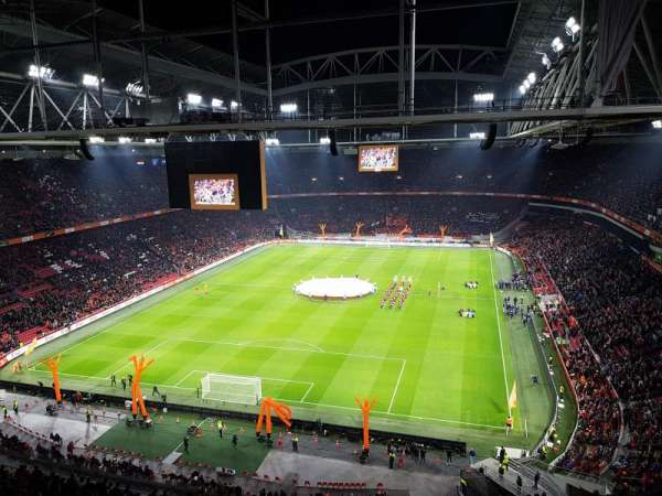 Amsterdam Arena, Abschnitt: 412, Reihe: 26