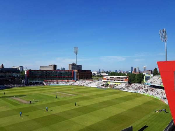 Old Trafford Cricket Ground, Abschnitt: Upper Tier, Reihe: Back Row